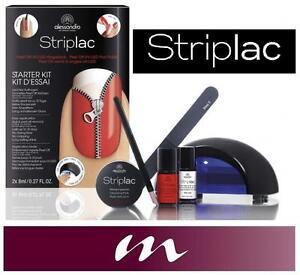 alessandro striplac starter set kit peel off uv led nail. Black Bedroom Furniture Sets. Home Design Ideas