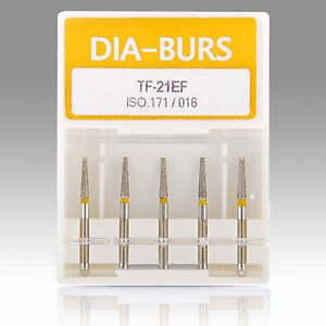 10Boxes-DENTAL-DIAMOND-BURS-HIGH-SPEED-MEDIUM-FG-1-6MM-UK-SALE