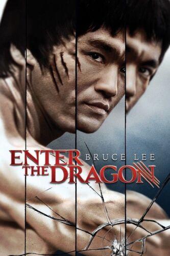 Art Enter The Dragon 1973 Movie Poster 20x30 24x36 Bruce Lee Film P648