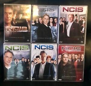 COFFRETS DVD SERIE POLICIER : NCIS ENQUETES SPECIALES - SAISONS 1 A 6