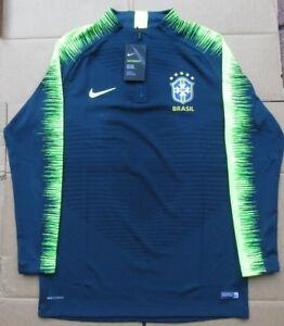 Top Vaporknit 2xlarge Drill 454 Strike camiseta Nueva 2018 Nike Brazil 893011 Tama o RYnOw770x