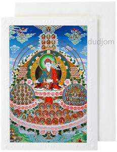 Buddhist-Tibetan-Thangka-Painting-Reproduction-Guru-Rinpoche-Dudjom-Lineage-Tree