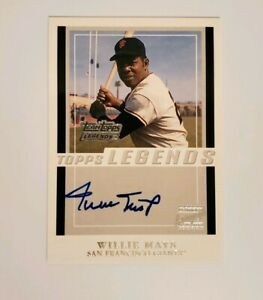 Willie-Mays-Autograph-Legends-San-Fransico-Giants-Baseball-Hall-of-Fame-Topps