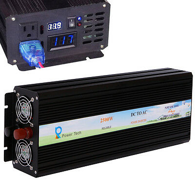Pure Sine Wave Inverter 12/24/48V TO 120V 300w 500w 800w 1000w 1500w 2000w 2500w