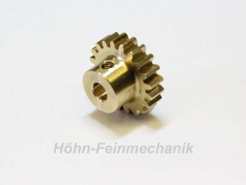Spur Gear Module 0,8 Gear from Brass 18 Teeth