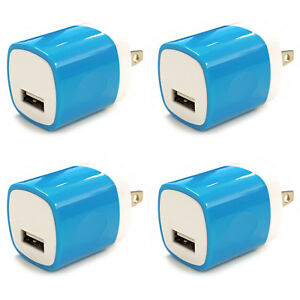 4x-USB-Wall-Charger-Power-Adapter-AC-Home-US-Plug-FOR-iPhone-6-7-8-X-Samsung-Lg