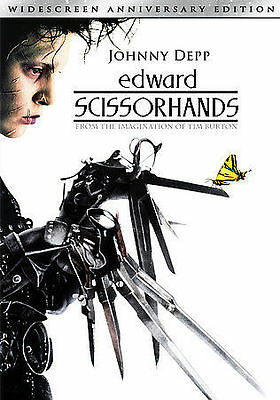 Edward Scissorhands (DVD, 2005, 10th Anniversary Edition Widescreen Sensormatic)