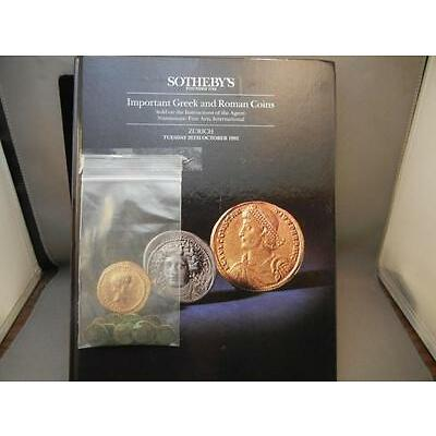 1C. Sotheby's Important Greek and Roman Coins Book with Ancient Coins Lot 1C