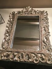 Champagne Gold Ornate Baroque Antique Shabby Chic Style Wall Mirror NEW Hall