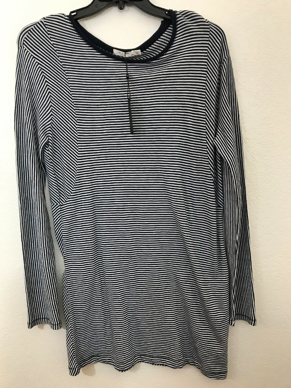 NWT rag & bone New York Striped Knit Knit Knit Dress Long Sleeve M 27029c