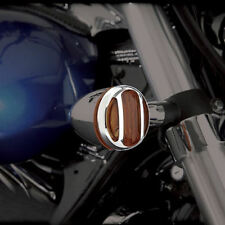 Chrome Turn Signal Grilles for Suzuki C50, C90, M90, M109R, S40, 2004+  (81-111)