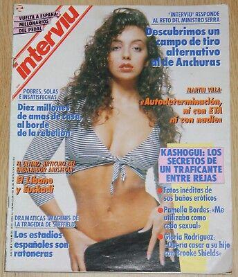 Interviu 676 Gloria Rodriguez Nude Khashoggui Mary Pondal Mandy Smith Mendoza Ebay