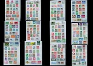 Large-German-Stamp-Collection-Stamps-From-Germany-Saar-amp-Bayern-Free-Shipping