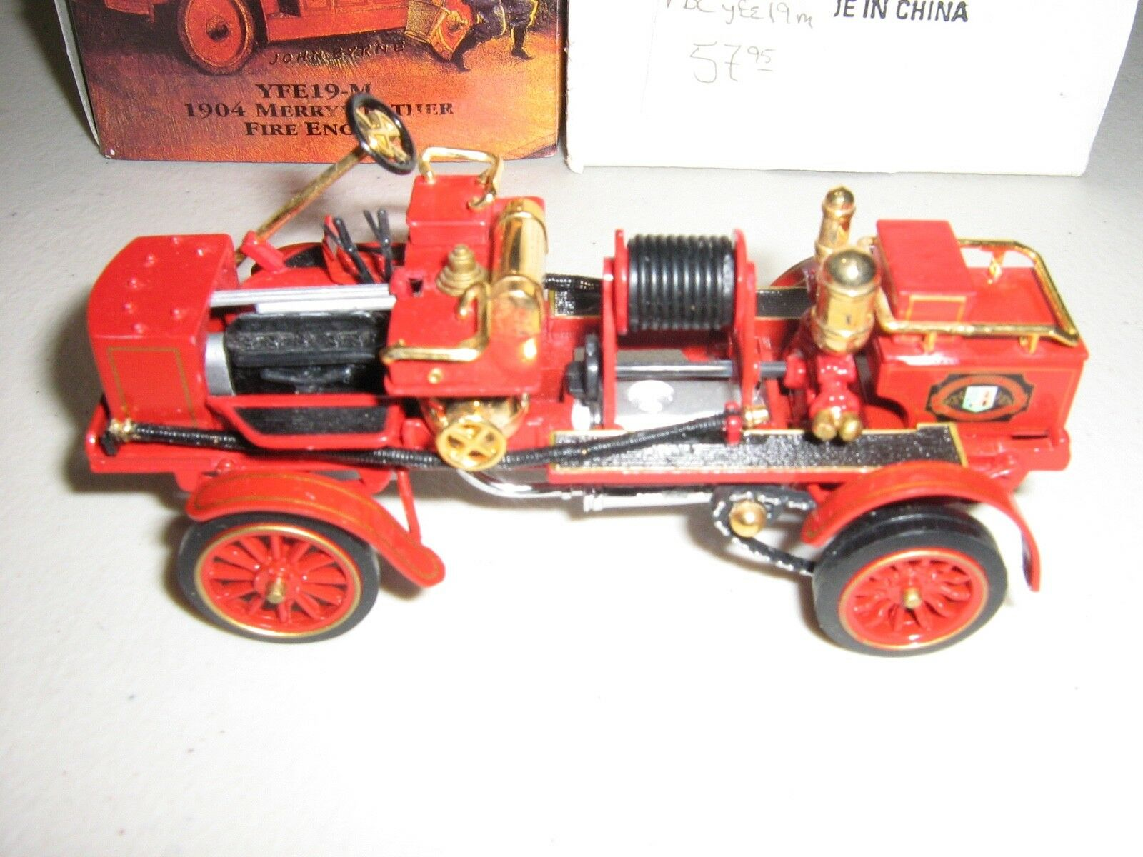 Matchbox    1904 Merryweather Fire Engine (New) 82e5fe
