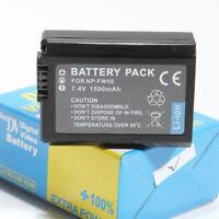 Np-fw50 Battery For Sony Dslr Nex-3 Nex-5 Nex-6 Alpha 7r A33 A35 A55 A6000 Us