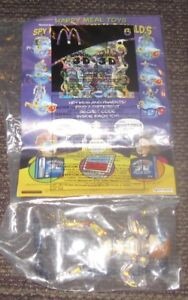 2003 Spy Kids 3-D McDonalds Happy Meal Comic Book /& Robot Toy #4