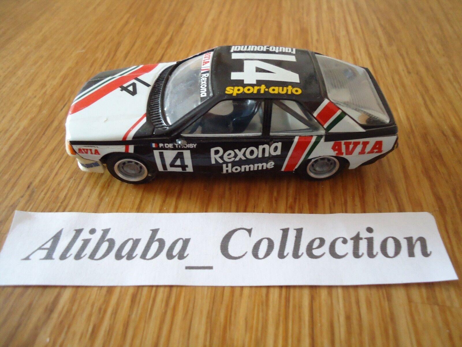 RENAULT FUEGO 14 De Thoisy Top Rexona 1982 rallye TOP 43