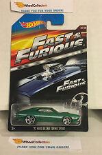 Fast & Furious * '72 Ford Grand Torino Sport Green * Hot Wheels * H14