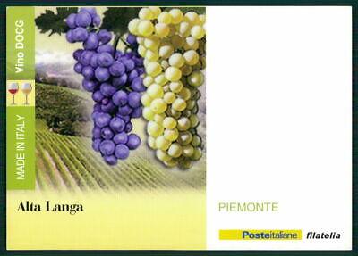 """Gastfreundlich Italien Werbekarte """"made In Italy"""" Weinanbau Wein Wine Trauben Piemonte Ed52 Modern Und Elegant In Mode"""