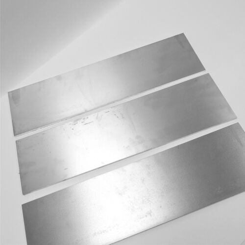 ".375/"" thick 6061 Aluminum PLATE  5.5/"" x 18/"" Long QTY 3 Flat Stock sku122281"