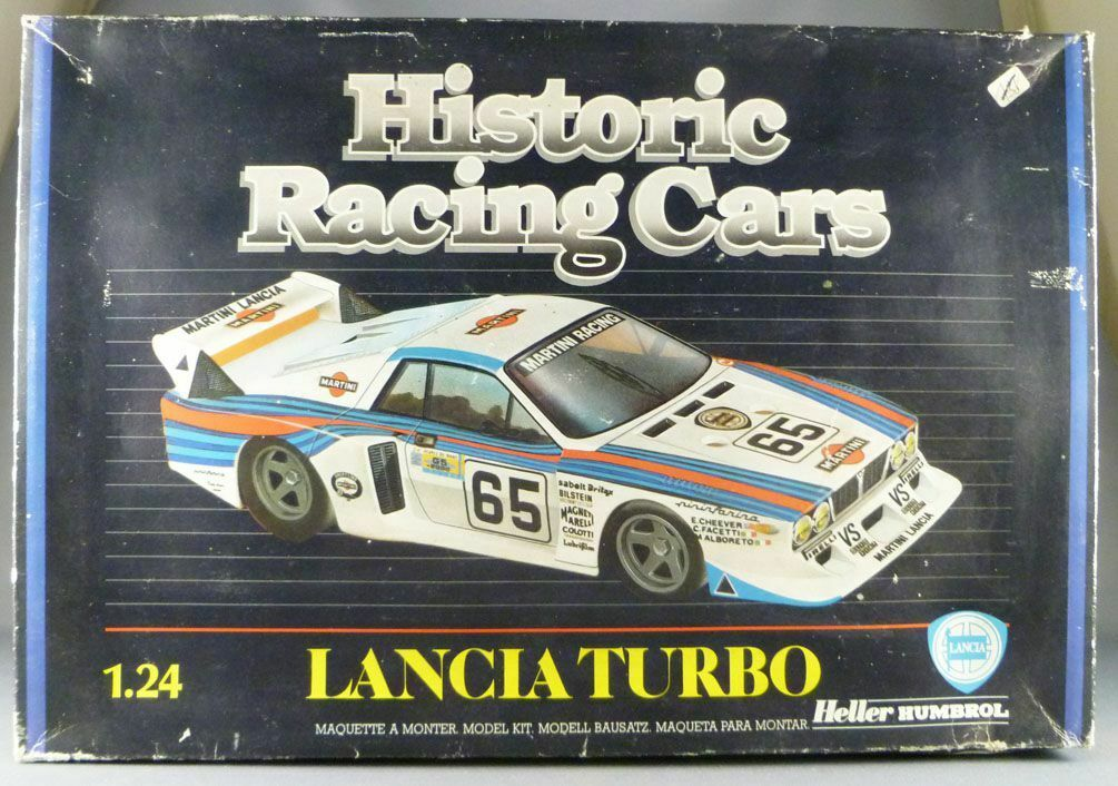 Heller - N°80741 Historic Racing Cars Lancia Turbo Monte Carlo 1 24° Neuf Boite