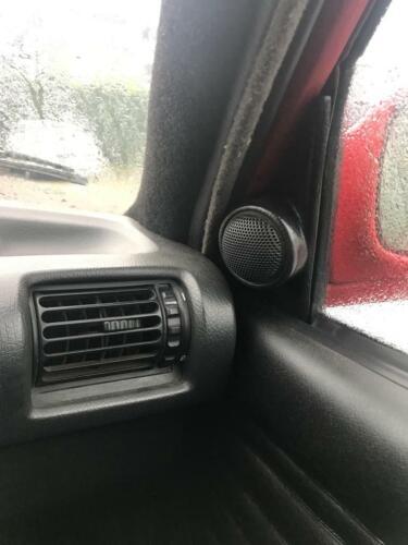 BMW E30 3 SERIES FRONT RIGHT LEFT DOOR A-PILLAR TWEETER SPEAKER 82-91