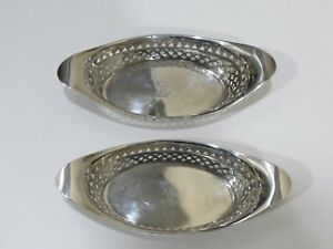 ANTIQUE-ATKINS-BROS-STERLING-SILVER-PAIR-OF-OVAL-PIERCED-DISHES-ENGLAND