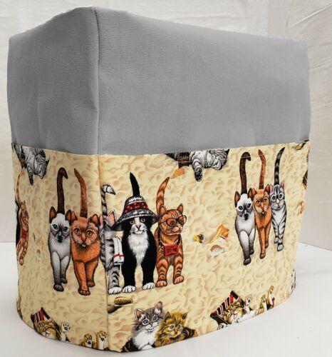 Canvas Beach Cats Bread Machine Cover