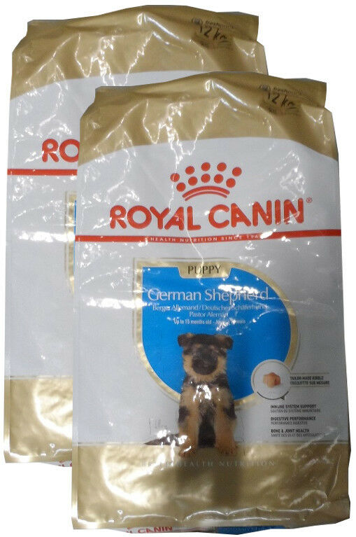 2x12kg Royal Canin German Shepherd Puppy  Pastore Tedesco  Cane