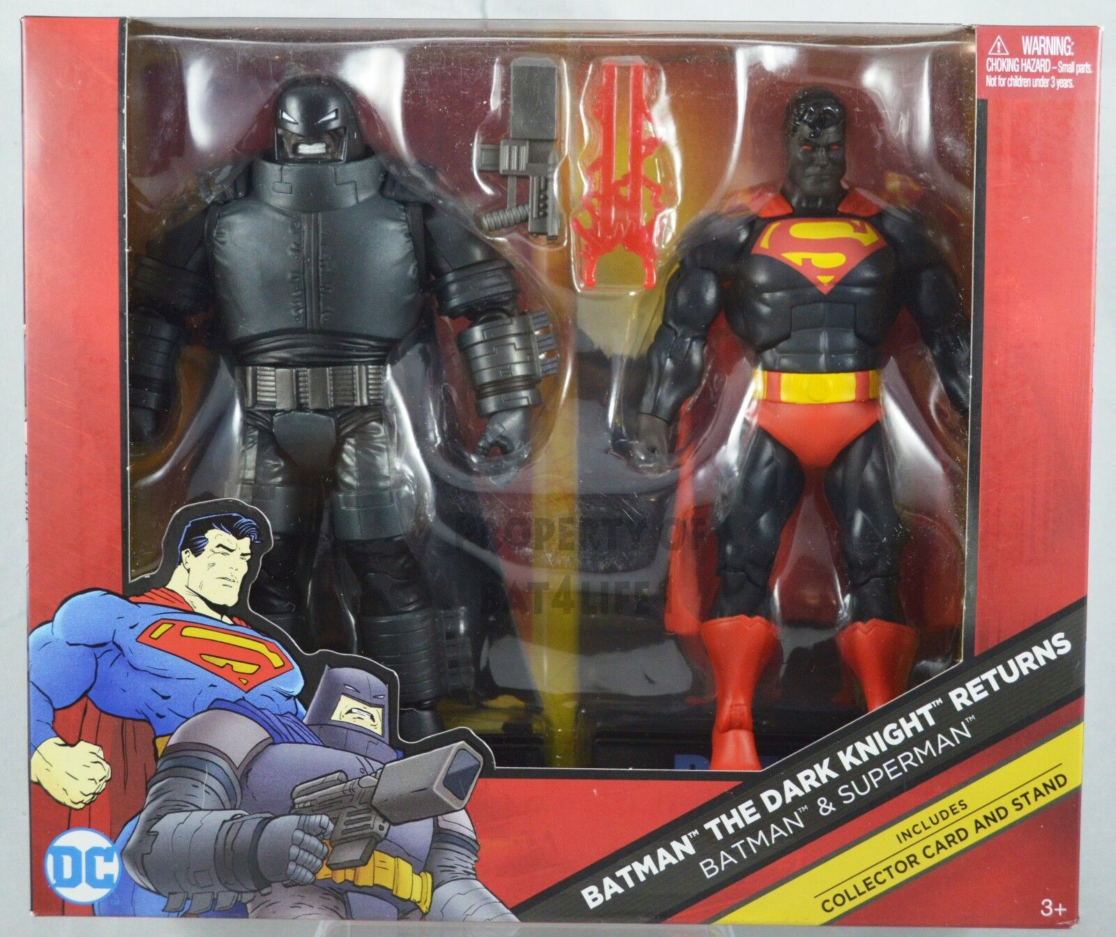 DC Comics Multiverse Batman The Dark Knight Returns Batman & Superman 2 pack