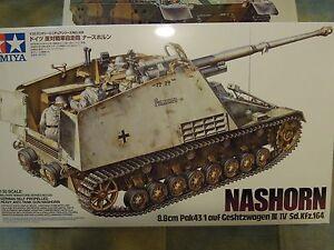 Tamiya-1-35-German-Nashorn-Heavy-Tank-Destroyer-Tank-Military-Model-Kit-35335