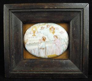 Porcelana-esmaltado-miniatura-decoracion-religiosa-en-el-sabor-de-Maurice-Denis