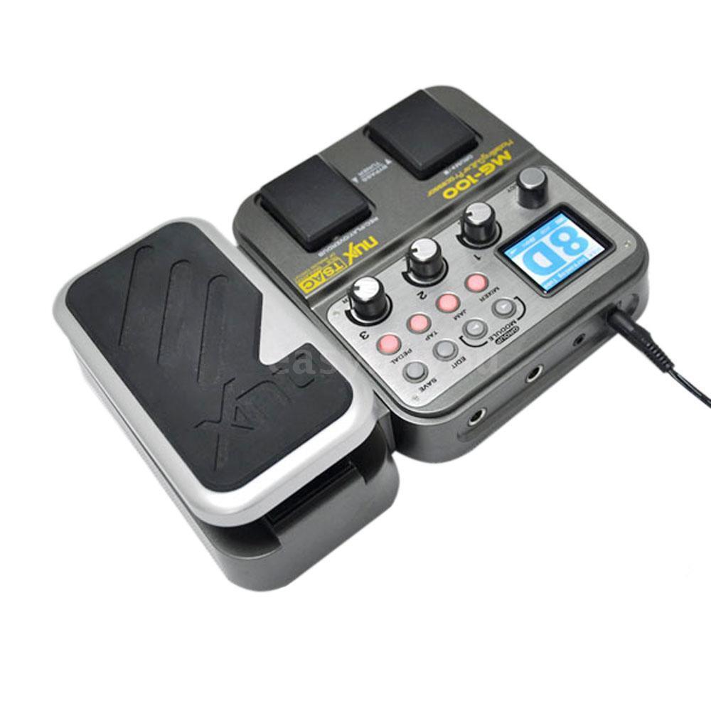 NUX Modeling Guitar Processor Guitar Effect Pedal Drum Tuner 72 Multi-Funktion
