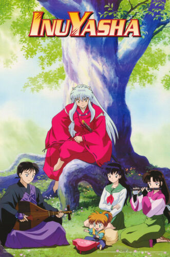 LOT OF 2 POSTERS InuYasha FREE SHIP #3402  RC31 K BY TREE ANIME MANGA
