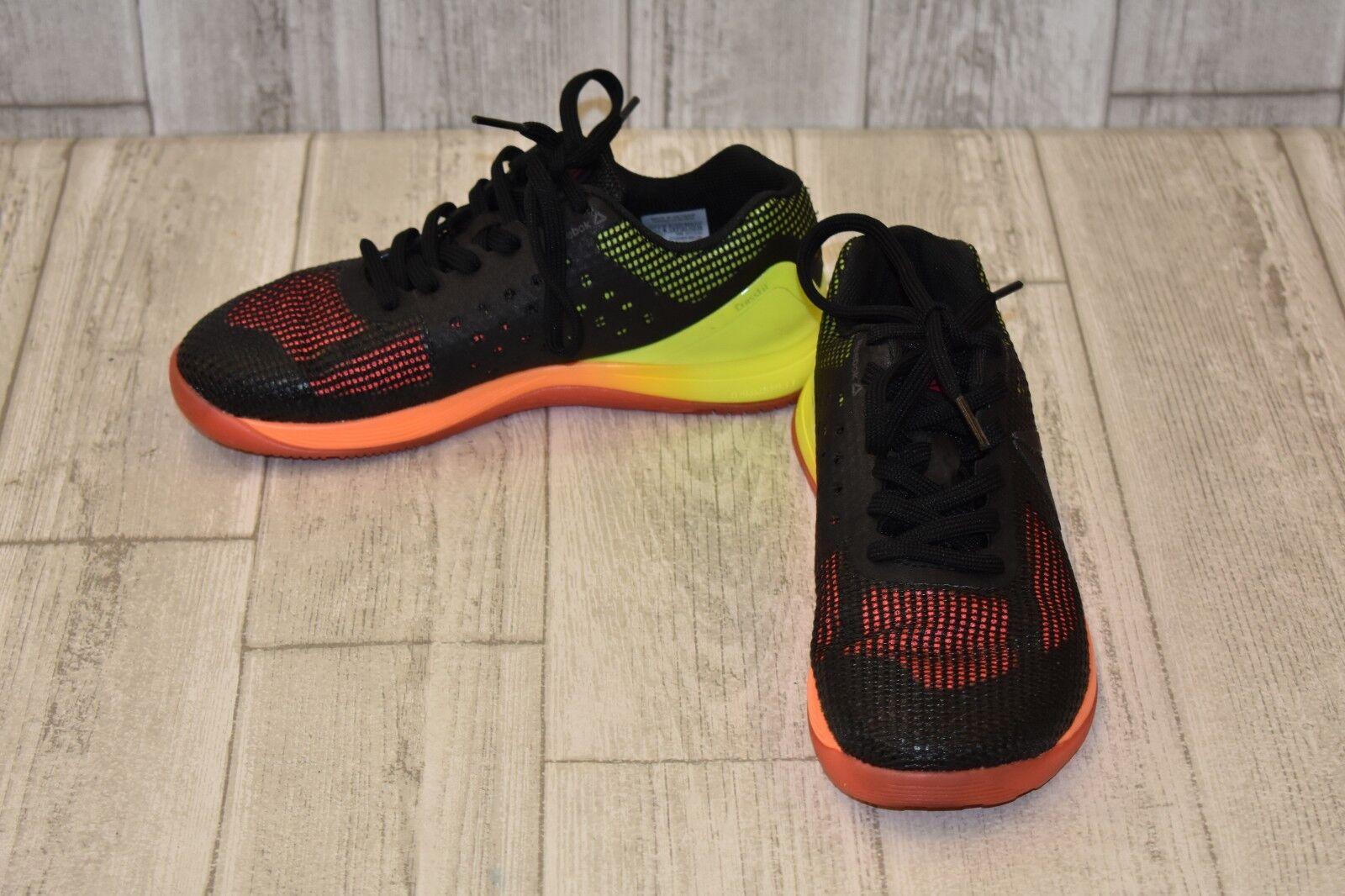 Reebox Crossfit Nano 7.0 7.0 7.0 Sneakers - Women's Size 6.5, Black Multi bbd4db