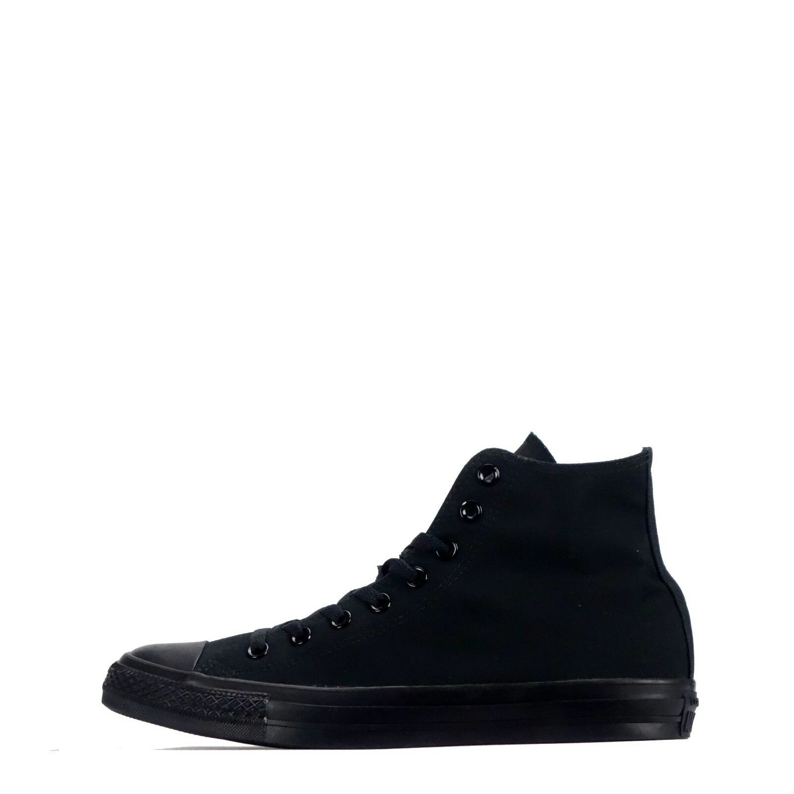 Converse Chuck up Taylor All Star Classic Hi Unisex Lace up Chuck Zapatos Plimsolls Negro 9a30b3