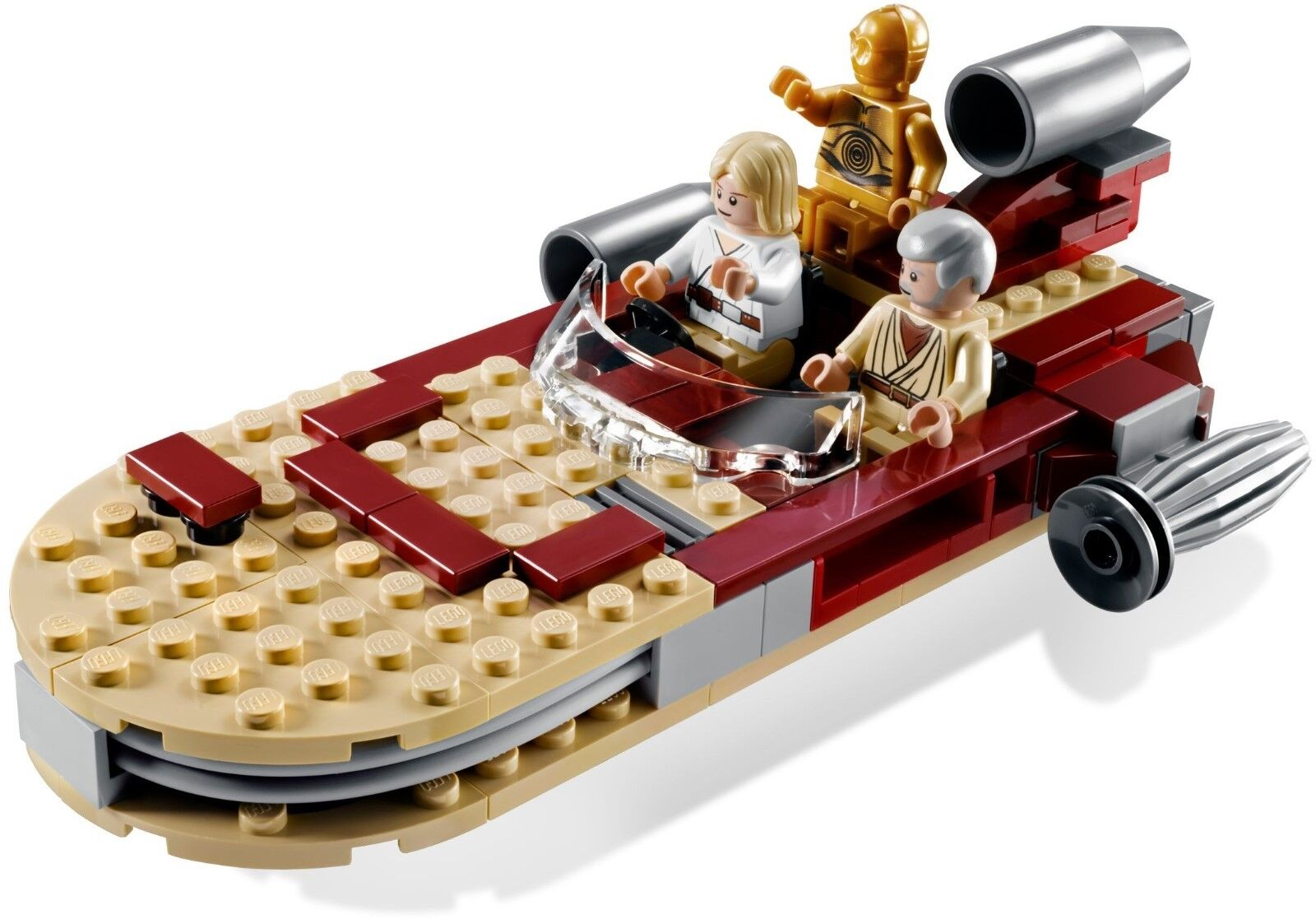 Star Wars LEGO  LUKE'S LANDSPEEDER  8092 Original Original Original Trilogy Rare (2010) Sealed Box 6cdb8c