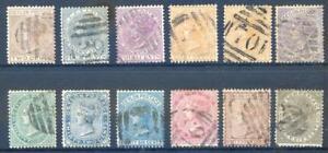 Ceylon-1872-80-Queen-Victoria-Crown-CC-set-12-to-96c-used-2017-11-04-06