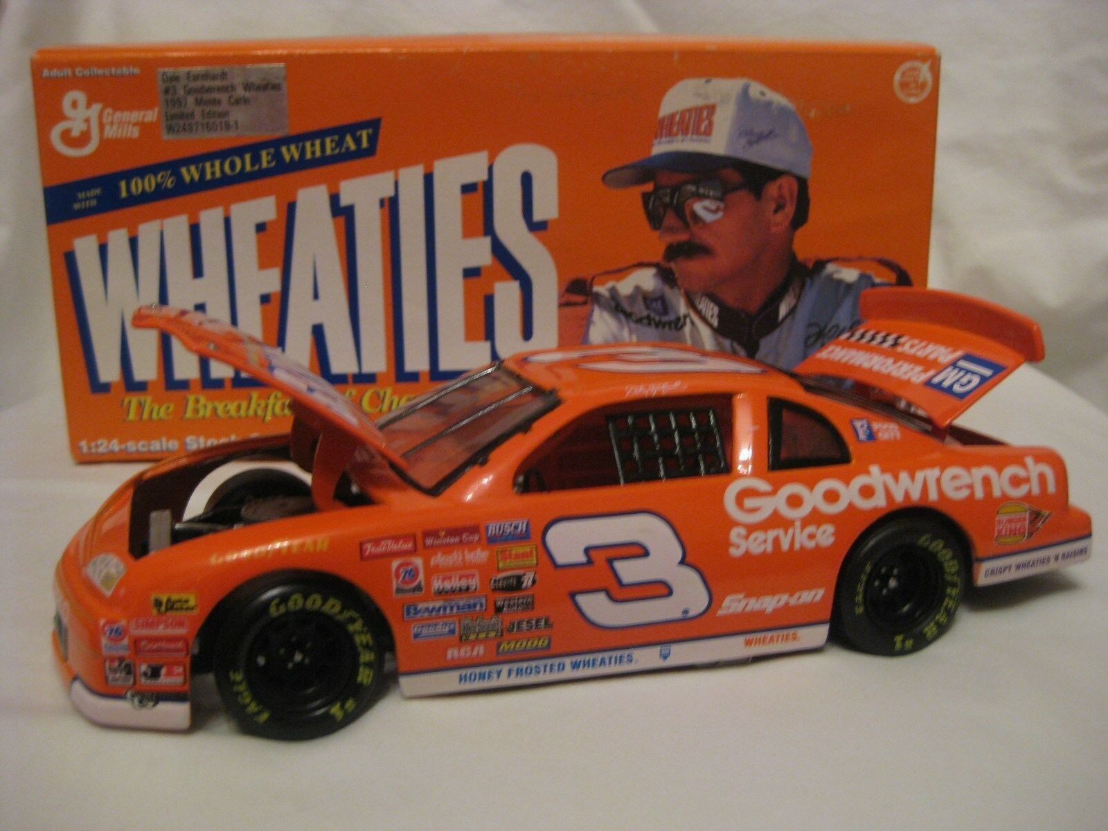 1997 Wheaties Goodwrench  3 Dale Earnhardt Sr 1 24 Diecast Collectible Car