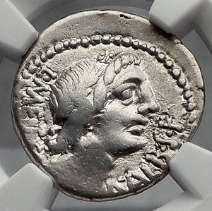 Roman-Republic-96BC-Rome-Apollo-Victory-Ancient-Silver-Denarius-Coin-NGC-i60106
