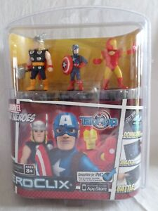 DC-COMICS-HeroClix-TabApp-MARVEL-SUPEREROI-IRON-MAN-THOR-CAPITAN-AMERICA