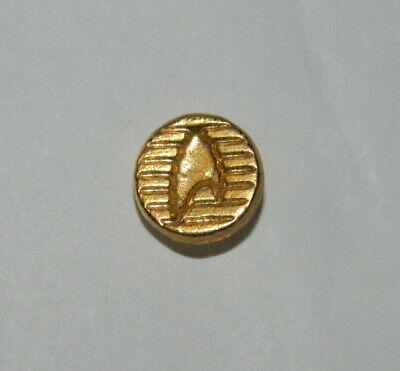 Voyager TV Series Captain Cloisonne Metal Gold Rank Pips NEW UNUSED Star Trek