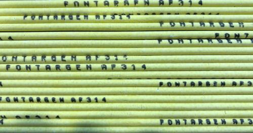 5x FONTARGEN AF 314-2,0 x 500mm Hartlot cadmiumfrei. Silberlot