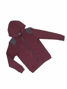 Next-Boys-Maroon-Grey-Denim-Blue-Quilted-Sweat-Hooded-Jacket-Ages-3-4-5-6-7-SALE