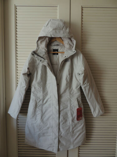 Jacket ~nwt Face Julie Small Hooded Waterproof Moonlight Ivory North Parka wYfnq64x6