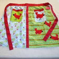 Pier 1 Imports - Cardinal - Hostess Apron - Christmas Holiday - NEW