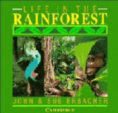 Life in the Rainforest by Erbacher, Sue,Erbacher, John, Good Used Book (Hardcove
