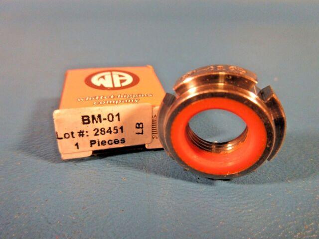 Whittet-Higgins SNC02-32S Stainless Steel Threaded Clampnut//Shaft /& Bearing Locknut Split Collar Unified Coarse 8-32 Right-Hand Thread Self-Locking,