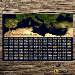Coins-Of-Ancient-Greece-Coin-Wall-Poster