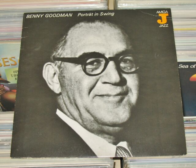 Benny Goodman - LP (mint-) Porträt in Swing 1937-39 / Amiga Jazz 1986 (REISSUE)